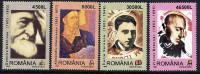 ROMANIA 2003 Cultural Personalities  MNH / **.  Michel 5737-40 - 1948-.... Republics