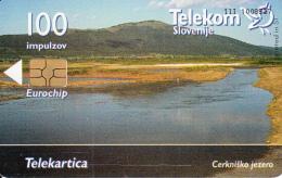 SLOVENIA SLOVENIJA  PHONECARD  2003 CERKNISKO  JEZERO  LAKES  TELEKOM CAT.NO. 498 - Slovenia