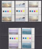 AAT 1987 Antarctic Scenes 5v Gutter (+margin) ** Mnh (30840A) - Australian Antarctic Territory (AAT)