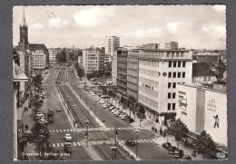 1961 DÜSSELDORF BERLINER ALLEE FG V SEE 2 SCANS ANIMATED - Duesseldorf