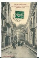Cauterets ( Hautes Pyrénées) Rue Richelieu/avenue De La Gare ,Jeune Vendeur De Journaux (?) En Petit Plan  , Animée - Cauterets