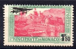 Monaco - YT PA N° 1 - Neuf ** - MNH - Cote: 75,00 €   -  (5) - Poste Aérienne