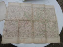 Guerre 14-18, Carte Etat-major ANVERS  ; Ref 433 CA 03 - Carte Geographique