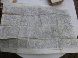 Guerre 14-18, Carte Etat-major NANCY  ; Ref 403 CA 03 - Cartes Géographiques