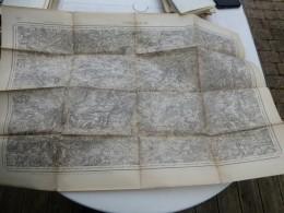 Guerre 14-18, Carte Etat-major SARREBOURG  ; Ref 402 CA 03 - Cartes Géographiques
