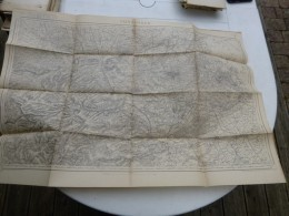 Guerre 14-18, Carte Etat-major SAINT-OMER ; Ref  397 CA 03 - Cartes Géographiques