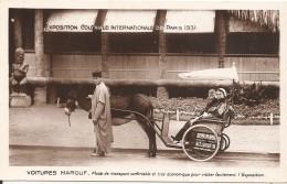 75000 PARIS - EXPOSITION COLONIALE En 1931  VOITURES MAROUF - Ausstellungen