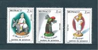 Monaco Timbres De 1990  Santons De Provence  Neufs**  N°1743 A 1745 - Monaco
