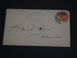 DANEMARK - Entier Postal De Kjobenhavn Pour Randers - A Voir - L 629 - Interi Postali