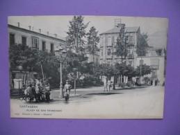 """CPA  Cartagena    """" Plaza De San Francisco  """" - Spain"""