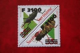 Surinam / Suriname 2000 2001 Insect Insecten Overprint (ZBL 1094-1095 Mi -) POSTFRIS / MNH ** - Surinam