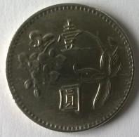 Monnaie - Taiwan - 1 Yuan - - Taiwán
