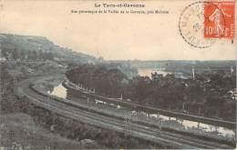 82 - Site Pittoresque De La Vallée De La Garonne, Près Malause (cad Pointillé Malause 1909) - France