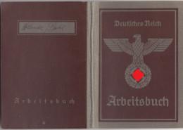 182, Sauberes Arbeitsbuch Und Ein Persil - Schein Für Die Gleiche Person ! - 1939-45