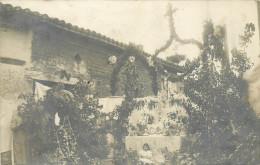 31 CORNEBARRIEU  Reposoir De La Fête Dieu Vers 1910 Cp Photo   2 Scans - France