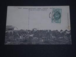 FRANCE / SÉNÉGAL - Oblitération De Dakar Sur Carte Postale Pour Brest - A Voir - L 637 - Sénégal (1887-1944)