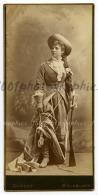 Très Beau Portrait D'actrices Ou D'acteurs De Théâtre Dans De Magnifiques Costumes Ou Robe - Photos
