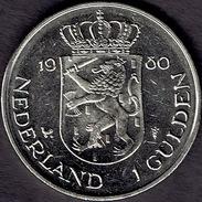 "Netherlands, 1980, 1 Gulden, ""Investiture Of New Queen"" - [ 3] 1815-… : Koninkrijk Der Nederlanden"