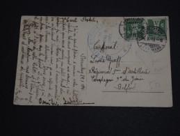 SUISSE - Cachet Du Gouvernement Militaire De Belfort Sur Timbre Suisse ( Oblitéré De Porrentruy ) 1915 - A Voir - L 643 - Cartas