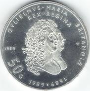 "Netherlands, 1988, 50  Gulden, ""300th Anniversary Of King William And Queen Mary"". - [ 3] 1815-… : Koninkrijk Der Nederlanden"