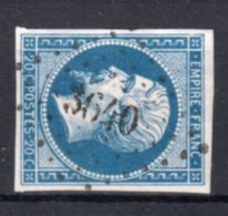 "FRANCE : PC 3640 . "" VILLEVOCANCE "" . (06) . N° 14 . TB . - Marcophily (detached Stamps)"