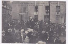 Besançon  - Fêtes Des 13, 14 Et 15 Août 1910 - Inauguration Du Buste De Chartran - Les Diseurs - Besancon