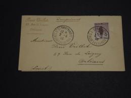 """FRANCE - Orphelin Seul Sur Bande Journal Avec Oblitération """" Congrés De La Paix """"de St Germain 1919 - A Voir - L 654 - Marcophilie (Lettres)"""