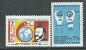 Madagascar N° 892 / 93  XX  125ème Anniversaire De La Croix-Rouge Et Du Croissant-Rouge , Les 2 Vals Sans Charnière, TB - Madagascar (1960-...)