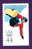 U.S.A. 2010. Scott #4436. VANCOUVER OLYMPIC WINTER GAMES IN PARK CITY, UTAH. Postfris, Neuf, MNH (**)