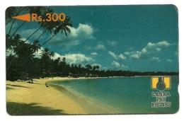 Sri Lanka - Tessera Telefonica Da 300 Rupie T100, - Paysages