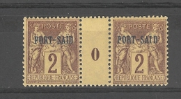 Port- Saïd _   Millésimes Groupe Surchargé -   N°2  (1899 )