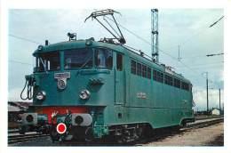 CARTE POSTALE : TRAIN . LOCOMOTIVE TYPE BB 16.500 . 25KV MONOPHASE 50 HZ - Trains