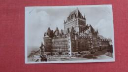 RPPC  > C> Canada > Quebec> Québec - Château Frontenac     Ref 2266 - Québec - Château Frontenac