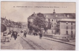 Pontarlier - L'hôpital Faubourg Saint-Etienne - Pontarlier