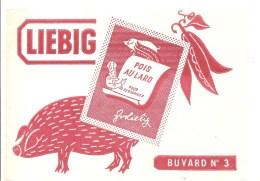 Buvard LIEBIG N°3 Pois Au Lard - Sopas & Salsas