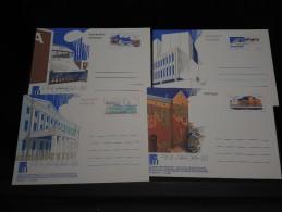 FINLANDE - Lot De 4 Entiers Postaux à Découvrir  Tous Scannés ( 5 Photos) - A Voir - L 674 - Finlandia