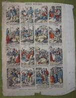 2 Planches D'imagerie Enfantine Fin XIXème - BENET GODICHON Et Au Verso LES CONSEQUENCES DE LA GOURMANDISE - Estampes & Gravures