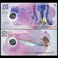 MALDIVES 20 Rufiyaa Banknote World Money Currency BILL Asia Note 2015 - Maldives