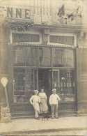 - Themes Divers -ref-M813- Carte Photo Magasin Patisserie Confiserie - A Identifier - Metiers - Magasins - - Magasins