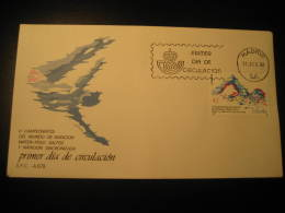 Madrid 1986 V World Championships Water Polo Water-polo Waterpolo Synchronized Swimming Dive Fdc Cover Spain