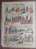 Image Epinal Pellerin - Musique Bretonne - Le Biniou Enchanté (de Carnac !) - Vieux Papiers