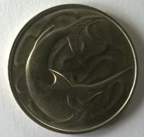 Monnaie - Singapour - 20 Cents 1980 - Superbe +++ - - Singapour