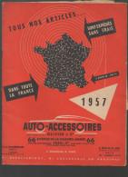 Catalogue Auto Accessoires Olivier 1957 (CAT113) - Transports