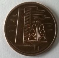 Monnaie - Singapour - 1 Cent 1975 - Superbe +++ - - Singapour