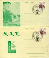 10713  Jugoslavia,  2 Differents Card  With Special Postmark  Esperanto Congress 1980  Rijeka - Esperanto