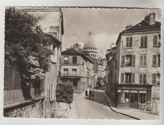 CPS PARIS 18° ARRONDISSEMENT - Place J.B. Clément Rue Norvins Et Basilique Sacré Coeur De Montmartre - Arrondissement: 18