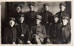 STRASBOURG MILITARIA Soldats Allemand En 1915(scan Recto Et Verso) - Strasbourg