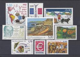 SPM - 1998-99 -  N° 683 à 691 - TOUS NEUFS - XX - MNH - TB - - St.Pierre & Miquelon
