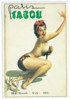 Cpsm  Bon Etat    Paris  Tabou , Carte Rare - Unclassified