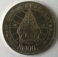 Monnaie - Indonésie - 100 Rupiah 1978 - Superbe +++ - - Indonesia